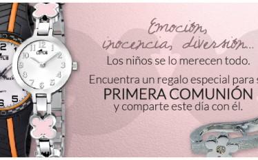Regalos de comunion para niños y niñas en joyeria online Gloria Pardo