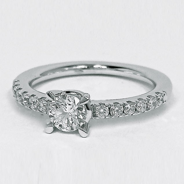 anillo de novios pandora